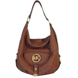 Micheal Kors Leather Bag Shoulder Tote Hobo Bucket